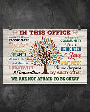 Social Worker We Are Not Afraid To Be Great 17x11 Poster poster-landscape-17x11-lifestyle-12