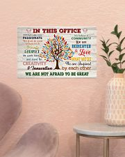 Social Worker We Are Not Afraid To Be Great 17x11 Poster poster-landscape-17x11-lifestyle-22