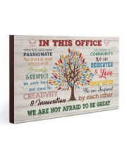 Social Worker We Are Not Afraid To Be Great 30x20 Gallery Wrapped Canvas Prints thumbnail
