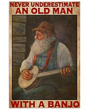 Banjo With Old Man 11x17 Poster front