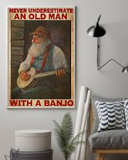 Banjo With Old Man 11x17 Poster lifestyle-poster-1