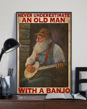Banjo With Old Man 11x17 Poster lifestyle-poster-2