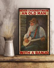 Banjo With Old Man 11x17 Poster lifestyle-poster-3