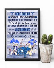 Phlebotomist - Don't give up 11x17 Poster lifestyle-poster-8