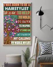 I was born to be a hairstylist  11x17 Poster lifestyle-poster-1
