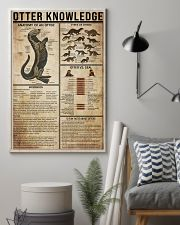 Otter Knowledge 11x17 Poster lifestyle-poster-1