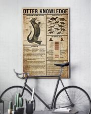Otter Knowledge 11x17 Poster lifestyle-poster-7