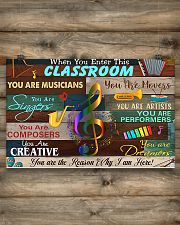 Teacher You Are The Reason Why I Am Here 17x11 Poster poster-landscape-17x11-lifestyle-14