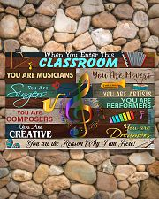 Teacher You Are The Reason Why I Am Here 17x11 Poster poster-landscape-17x11-lifestyle-15