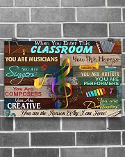 Teacher You Are The Reason Why I Am Here 17x11 Poster poster-landscape-17x11-lifestyle-18
