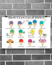 Social Worker How I Can Calm Down 17x11 Poster poster-landscape-17x11-lifestyle-18