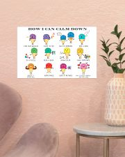 Social Worker How I Can Calm Down 17x11 Poster poster-landscape-17x11-lifestyle-22