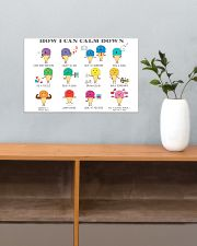 Social Worker How I Can Calm Down 17x11 Poster poster-landscape-17x11-lifestyle-24