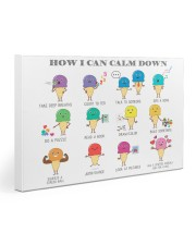 Social Worker How I Can Calm Down 30x20 Gallery Wrapped Canvas Prints thumbnail