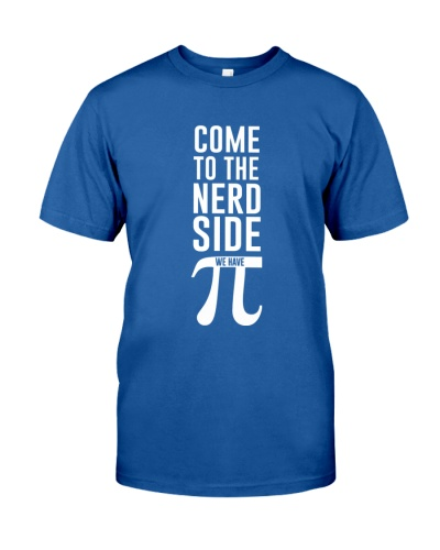Science Come to the nerd side we have pi
