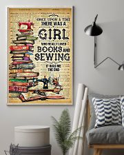 Sewing There Was A Girl 11x17 Poster lifestyle-poster-1