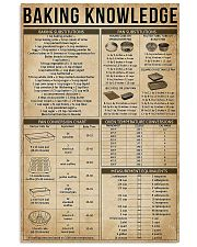 Baking Knowledge 11x17 Poster front