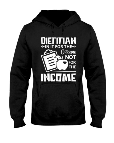 Dietitian In it for the outcome