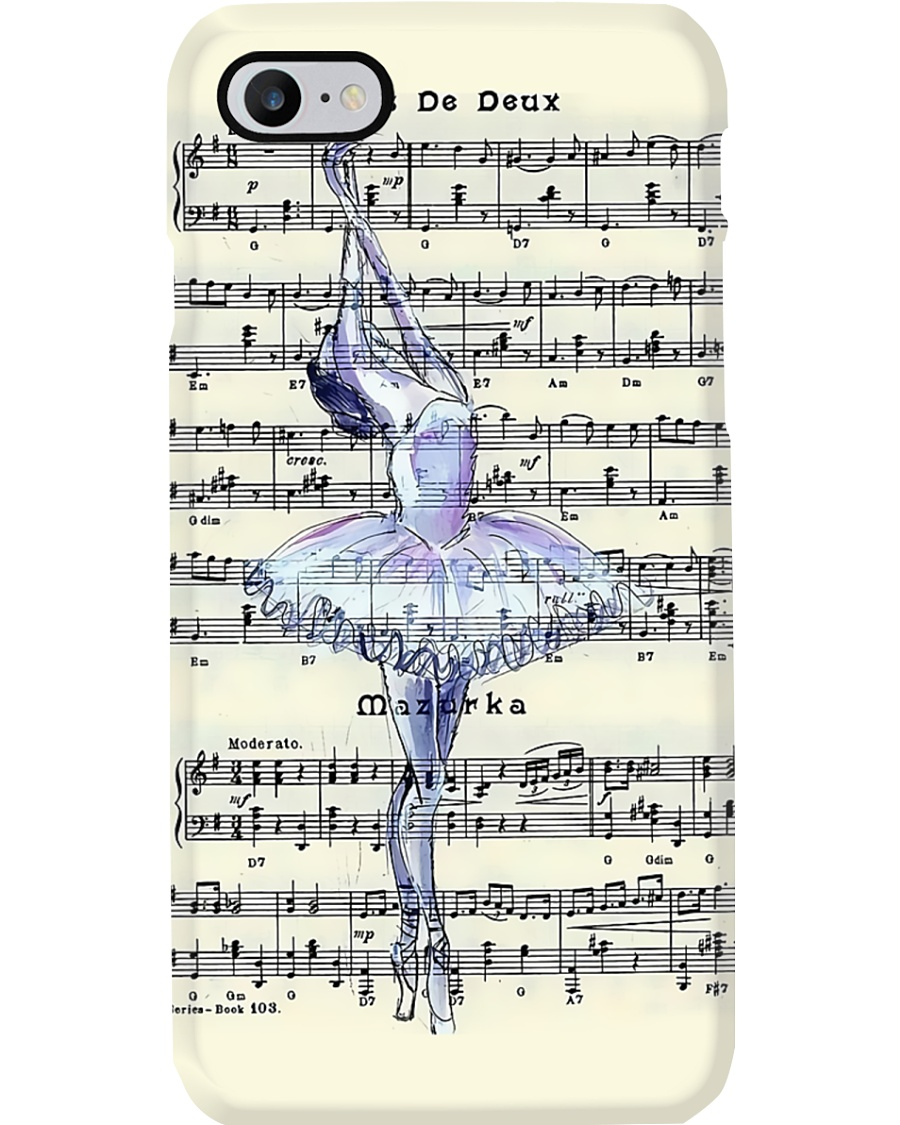 Ballet Music Sheet Phone Case