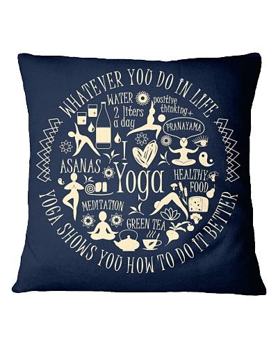 Yoga - unique pillow