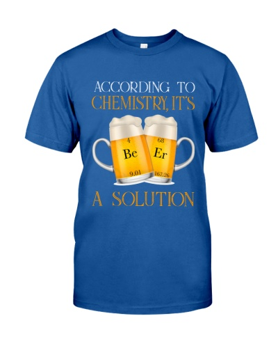 According to chemistry Beer is a solution