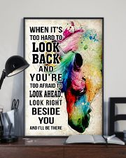 Horse Girl - It's hard to look back I'll be there 11x17 Poster lifestyle-poster-2