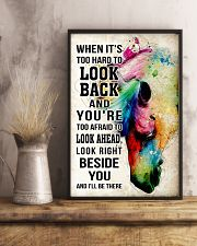 Horse Girl - It's hard to look back I'll be there 11x17 Poster lifestyle-poster-3
