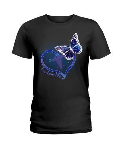 Live Love Nurse Butterfly