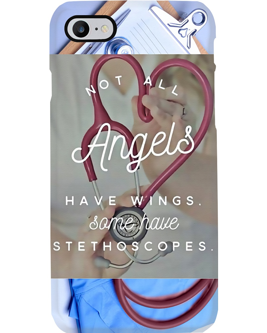 Medical Assistant - Not all angels have wings Phone Case