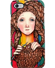 Crochet - Woman Loves Crochet Phone Case i-phone-7-case