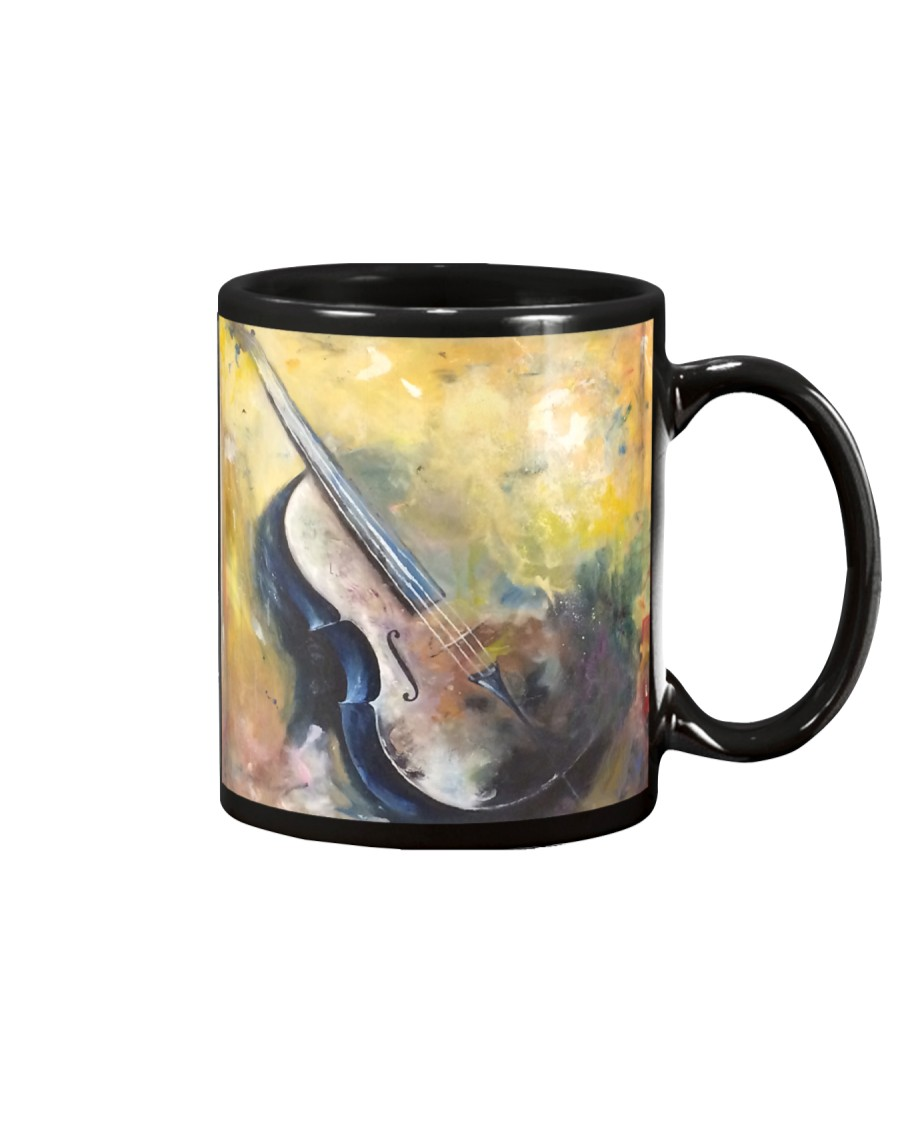 Cello Painting Mug