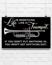 Trumpet Life Is Something Like A Trumpet 17x11 Poster poster-landscape-17x11-lifestyle-17