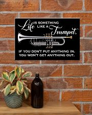 Trumpet Life Is Something Like A Trumpet 17x11 Poster poster-landscape-17x11-lifestyle-23
