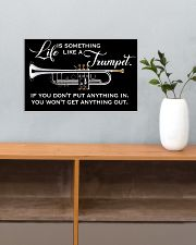 Trumpet Life Is Something Like A Trumpet 17x11 Poster poster-landscape-17x11-lifestyle-24