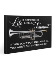Trumpet Life Is Something Like A Trumpet 30x20 Gallery Wrapped Canvas Prints thumbnail