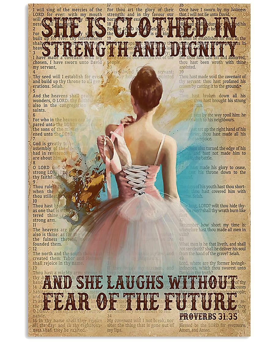 Ballet - She Laughs Without Fear Of The Future 11x17 Poster