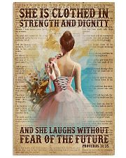 Ballet - She Laughs Without Fear Of The Future 11x17 Poster front