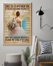 Ballet - She Laughs Without Fear Of The Future 11x17 Poster lifestyle-poster-1