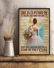 Ballet - She Laughs Without Fear Of The Future 11x17 Poster lifestyle-poster-3