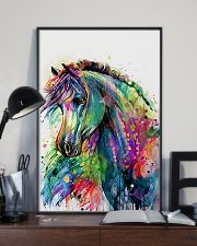 Horse Girl - Colorful Horse 11x17 Poster lifestyle-poster-2