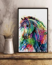 Horse Girl - Colorful Horse 11x17 Poster lifestyle-poster-3