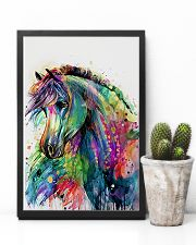 Horse Girl - Colorful Horse 11x17 Poster lifestyle-poster-8