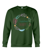 Occupational Therapy Flourist Crewneck Sweatshirt thumbnail
