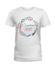 Occupational Therapy Flourist Ladies T-Shirt front