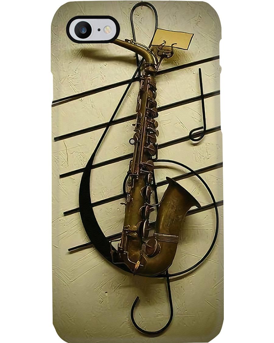 Old Saxophone  Phone Case