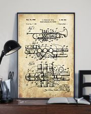 Trumpet Patern Poster 16x24 Poster lifestyle-poster-2