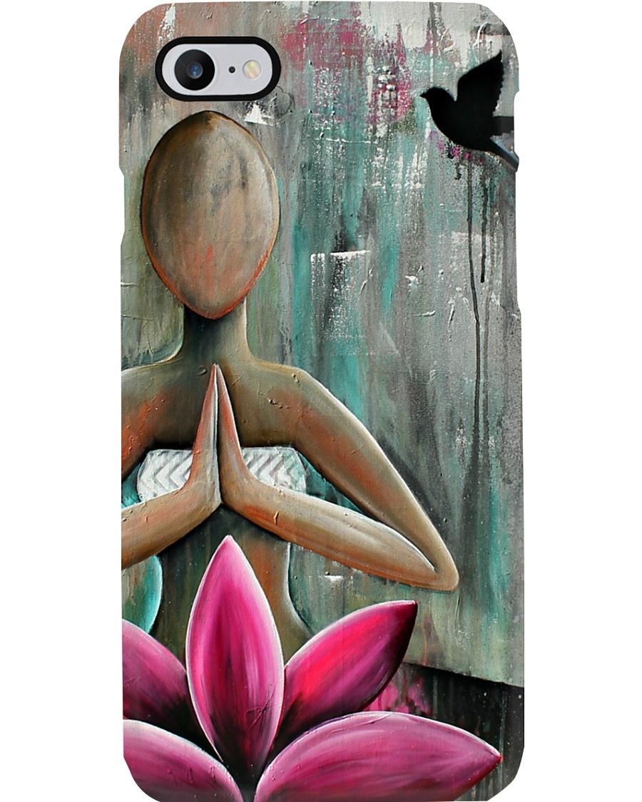 Yoga Lotus Meditation  Phone Case