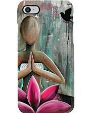 Yoga Lotus Meditation  Phone Case i-phone-8-case