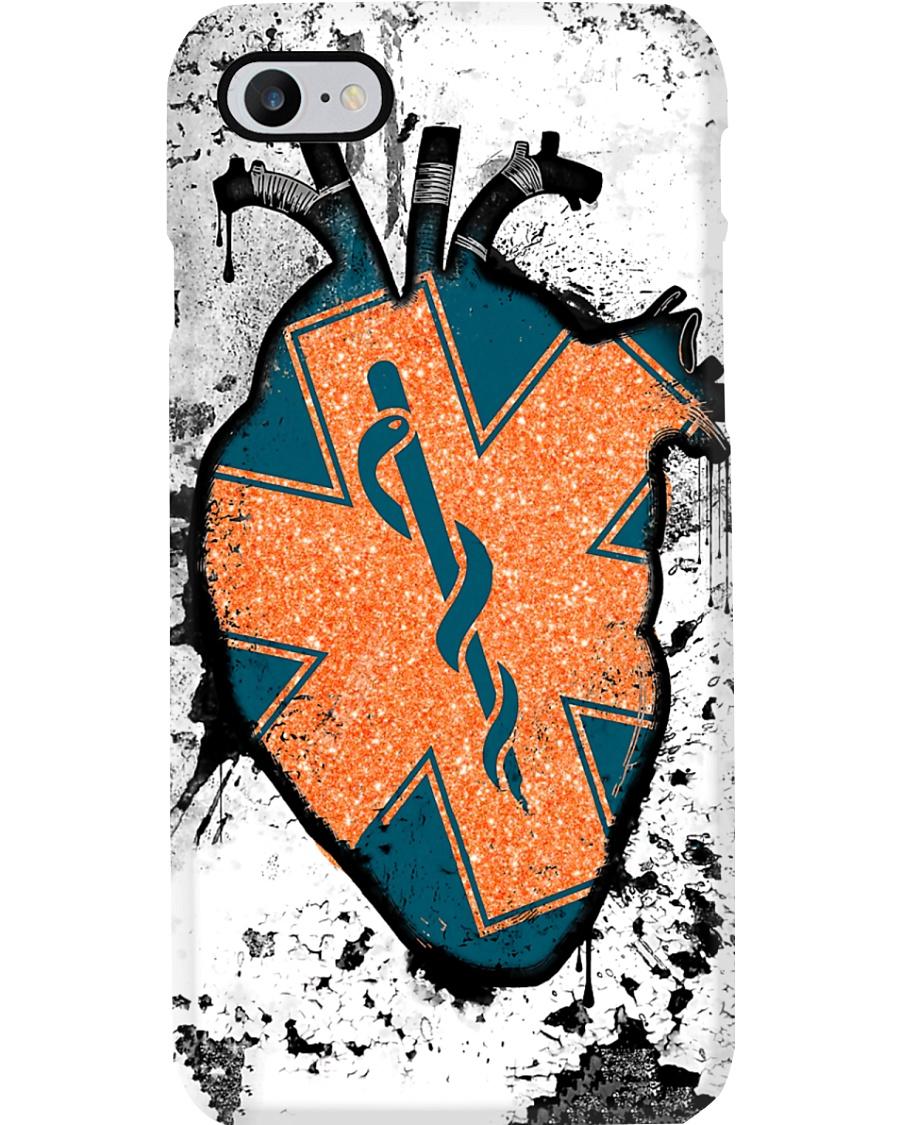 Paramedic Heart Symbol Phone Case