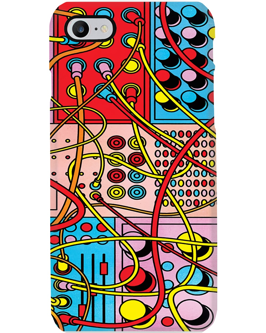 Synthesizer Color Machine Phone Case